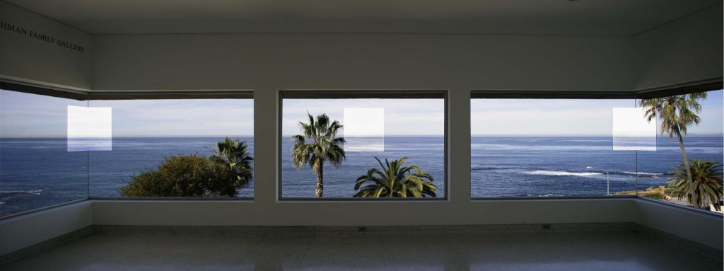 Robert Irwin, 1°, 2°, 3°, 4°, 1997. Museum of Contemporary Art, San Diego